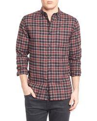 Victorinox - 'sterner' Plaid Sport Shirt - Lyst