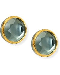 She Bee Gem - Youre So Special Earring in Grey - Lyst