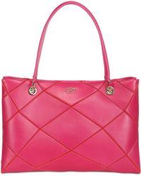 Roger Vivier Medium Prismick Patchwork Leather Bag - Lyst