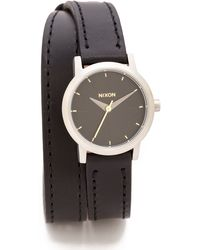 Nixon Kenzi Wrap Watch  Blackgold - Lyst