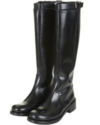 Topshop Descend Knee High Boots - Lyst