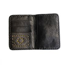 Cleobella - Mexicana Soft Passport Holder In Gunmetal - Lyst