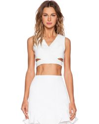 Finders Keepers White Moonlight Top - Lyst