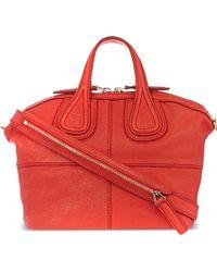 Givenchy Micro Nightingale Zanzi Tote Red - Lyst