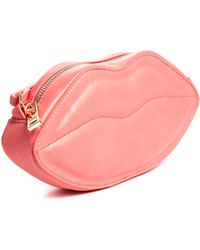 Asos Lips Cross Body Bag - Lyst