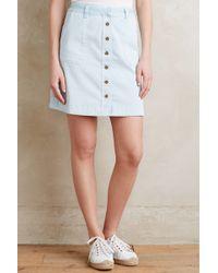 Pilcro - Chino Skirt - Lyst