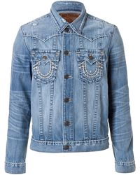 True Religion Jean Jacket - Lyst