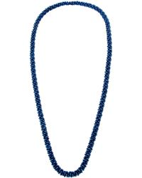 John Lewis - Twisted Bead Long Necklace - Lyst