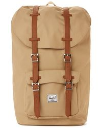 Herschel Supply Co. Little America Backpack - Khaki - Lyst