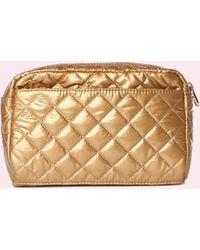 MZ Wallace - Large Savoy Cosmetic Gold - Lyst