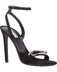 Balenciaga Buckle-front Ankle-strap Sandals - Lyst