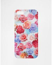 Asos Garden Print Iphone 5 Case multicolor - Lyst