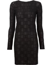 Gareth Pugh | Burnt-out Mini Dress | Lyst