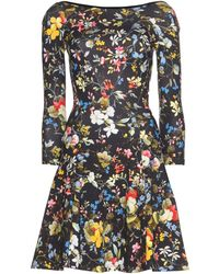 Erdem Cotton Skater Dress - Lyst