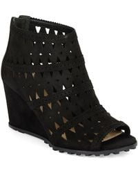 Via Spiga Latanya Wedge Ankle Boots - Lyst