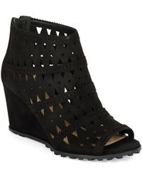 Via Spiga Latanya Wedge Ankle Boots - Lyst