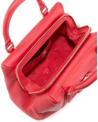 Tory Burch Amanda Slouchy Mini Satchel Bag Hot Pink - Lyst