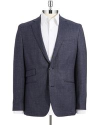 Vince Camuto Wool Peacoat Blazer - Lyst