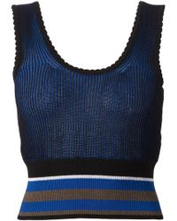 Vivienne Westwood Red Label Knitted Vest Top - Lyst