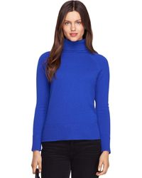 Brooks Brothers Shrunken Cashmere Turtleneck - Lyst