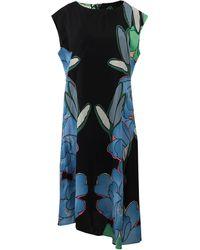 Marni Cap Sleeve Floral Dress - Lyst