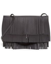 Proenza Schouler 'Small Fringe Lunch Bag' Leather Clutch - Lyst