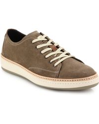 To Boot Geoffrey Suede Lace-Up Sneakers - Lyst