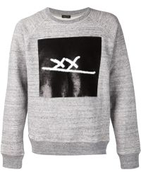 Marc Jacobs | Sequins Embroidered Xx Sweatshirt | Lyst