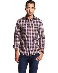 Vince Camuto Plaid Sport Shirt - Lyst