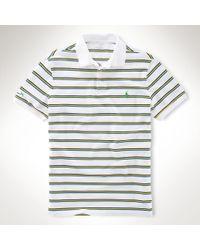 Polo Ralph Lauren Striped Tennis Polo - Lyst