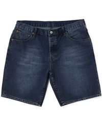 Cheap Monday Line Shorts Anti Blue In Regular Fit - Lyst