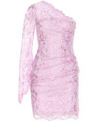 Emilio Pucci Lace Oneshoulder Dress - Lyst