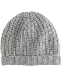 J.Crew Chunky Ribbed Hat - Lyst