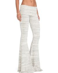 Saint Grace - Ashby Flare Pants - Lyst