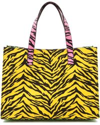 Moschino Cheap and Chic Print Canvas Tote  - Lyst