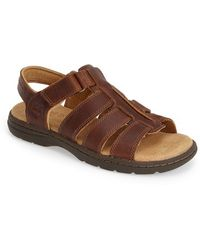 Timberland Earthkeepers 'Altamont' Fisherman Sandal brown - Lyst