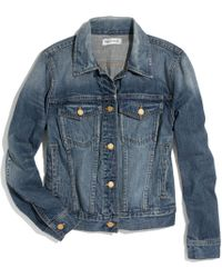 Madewell The Jean Jacket - Lyst