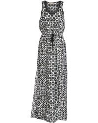 MICHAEL Michael Kors Long Dress - Lyst