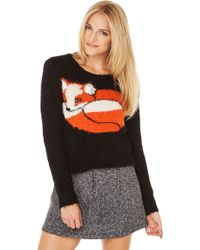 Mink Pink Mr Fox Jumper Sweater - Lyst