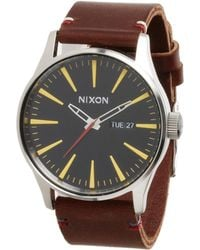 Nixon The Sentry Leather - The Luxe Heritage Collection - Lyst