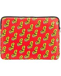"Marc By Marc Jacobs Bunny Hop"" Laptop Case red - Lyst"