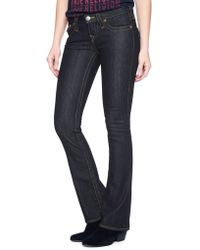 True Religion Hand Picked Bootcut Womens Jean - Lyst