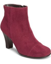 Aerosoles Scrole Book Ankle Boots - Lyst