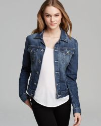 Ag Adriano Goldschmied Jacket Robyn Denim in 9 Year Evolve - Lyst
