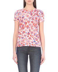 Maje Tumi Printed T-Shirt - For Women - Lyst