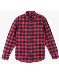 Obey   Raymond L/s Shirt   Lyst