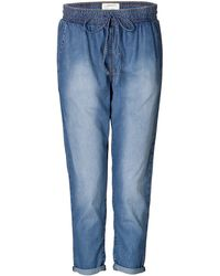 Current/Elliott Loose Fit Jeans - Lyst