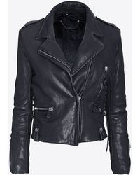 Intermix Online Barbara Bui New Vintage Leather Jacket - Lyst