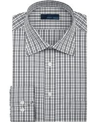 Joseph Abboud Heather Check Dress Shirt - Lyst