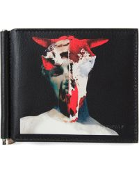 Givenchy Abstract Skull Print Wallet - Lyst